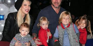 Tori Spelling and Dean McDermott's family