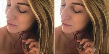 woman turns her labia into jewelry