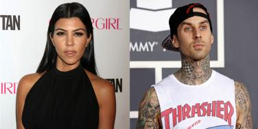 Kourtney Kardashian and Travis Barker