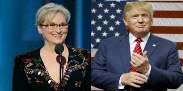 Meryl Streep Donald Trump politics Golden Globes