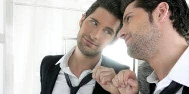 vain man mirror