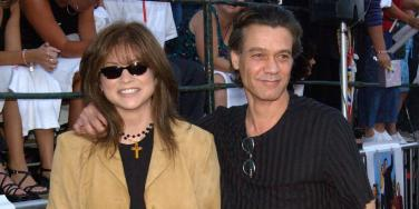 Valerie Bertinelli and Eddie Van Halen