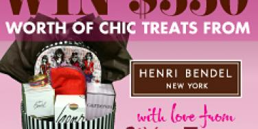 henri bendel daily candy giveaway newsletter