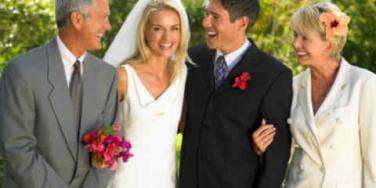 wedding happy family