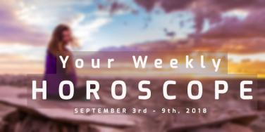 Weekly Horoscope Predictions For All Zodiac Signs For September 3rd - 9th, 2018