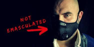 Why So Many Men Won't Wear A COVID-19 Mask