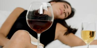 woman drunk wine recipe