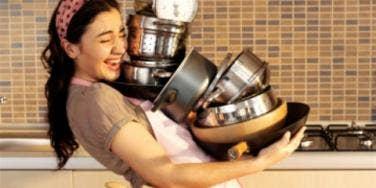 woman kitchen