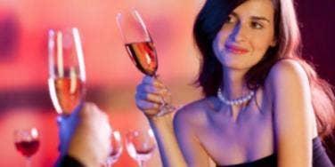 woman date flirting
