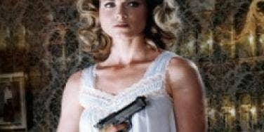 woman scorned, gun-toting mistress