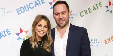 Who is Scooter Braun's wife?