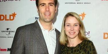 Marissa Mayer and her husband
