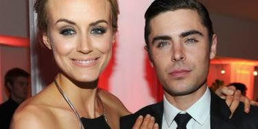 Taylor Schilling and Zac Efron