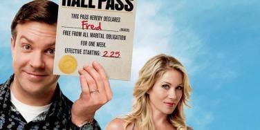 Jason Sudeikis and Christina Applegate from Hall Pass