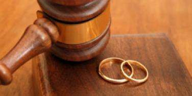 gavel wedding rings