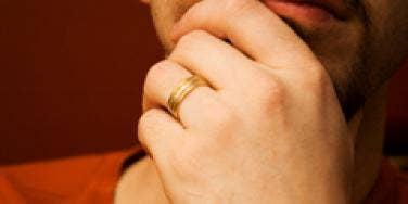 married man wedding ring