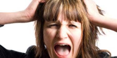 upset woman angry