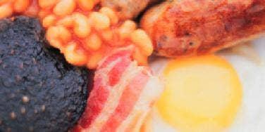sausage beans bacon eggs