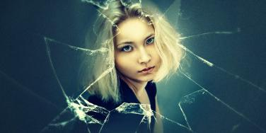 broken emotions woman