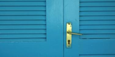 Closet door