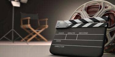 film on set