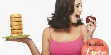 woman eating habits