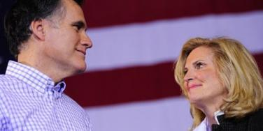 Mitt Romney and wife Ann Romney