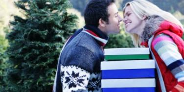 holiday couple christmas gifts presents