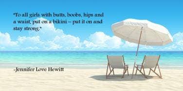 Jennifer Love Hewitt body esteem quote