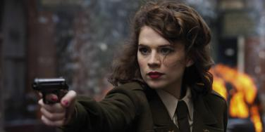 'Agent Carter' star Hayley Atwell as Peggy Carter in 'Captain America: The First Avenger'