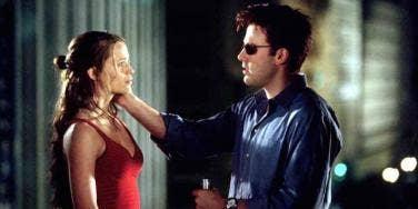 Ben Affleck and Jennifer Garner from Daredevil