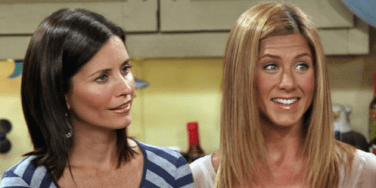 Celebrity BFFs, Best Friends, Monica and Rachel