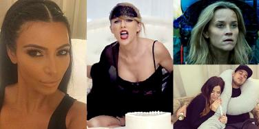 celebrity slut shamers, slut shame, slut, slut shaming, celebs who slut shame, taylor swift, kim kardashian, kanye west, kimye, kanye west kim kardashian, kim kanye, khloe kardashian, rob kardashian, reese witherspoon wild