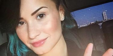 Demi Lovato Peace Sign Instagram