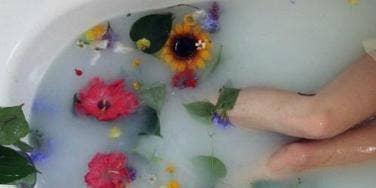 herb bath