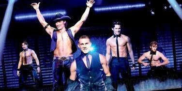 Magic Mike cast Channing Tatum Matthew McConaughey Matt Bomer Alex Pettyfer Joe Manganiello