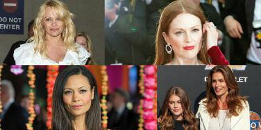 celebrity home births julianne moore thandie newton pamela anderson kaia gerber cindy crawford