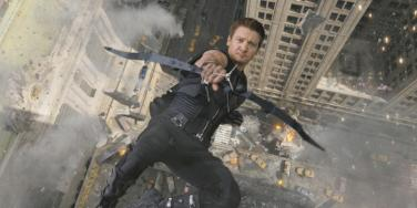Jeremy Renner from Marvel's The Avengers