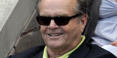 Jack Nicholson at the U.S. Open.