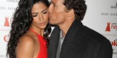 Matthew McConaughey Likes Being A Family Man