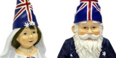 royal wedding gnomes