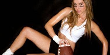 sexy football lady