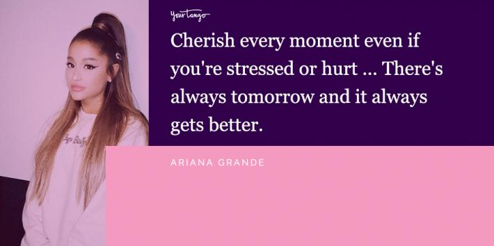 10 Moving Ariana Grande Quotes About Anxiety & Keeping Your Mental Health In Check