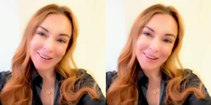 Lindsay Lohan Surprises Fan And Gives Empowering Pep Talk To Help Her Come Out To Her Parents