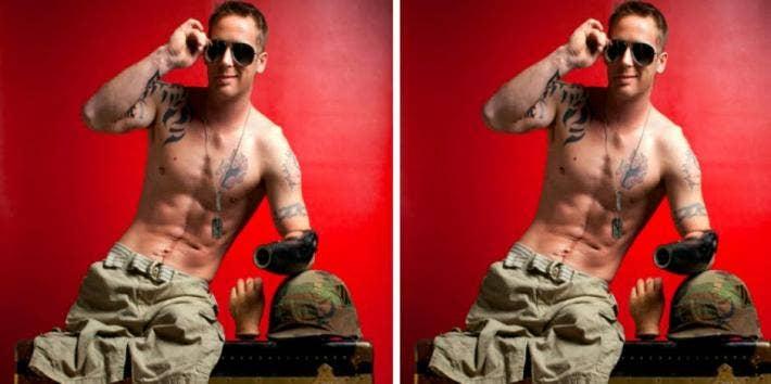 sexy war veteran