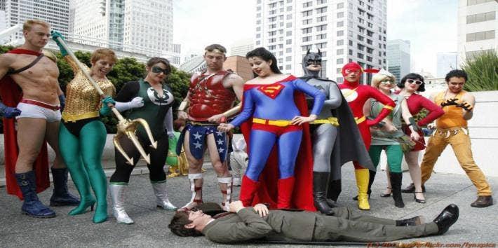 superhero costume gender swapped