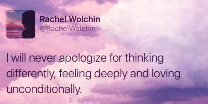 Life Quotes From Rachel Wolchin Instagram