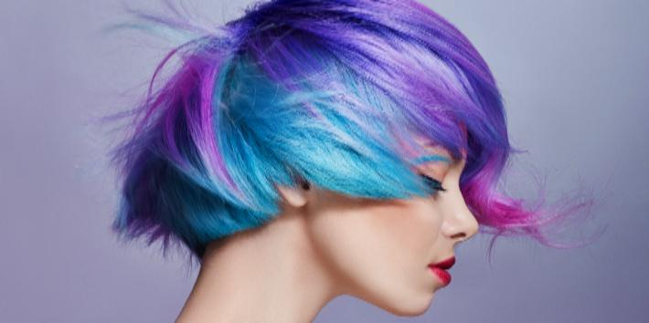 15 Stunning Photos Of CRAZY-HOT Rainbow Hair You Should Def Rock