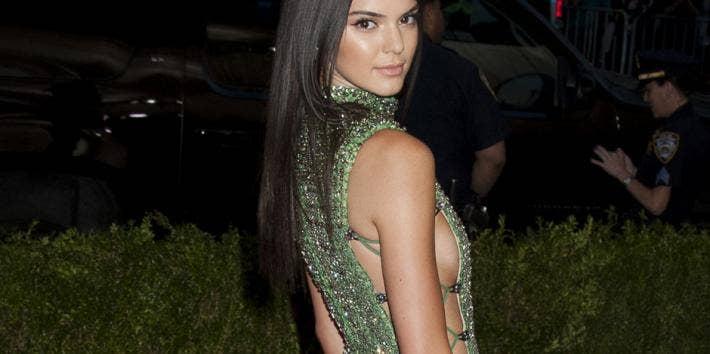 Kendall Jenner Sideboob