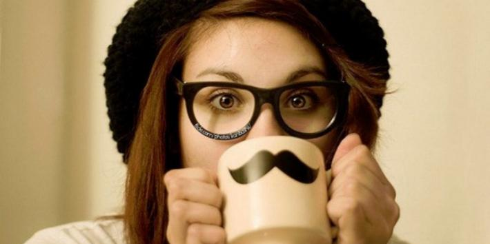 girl-coffee-mustache